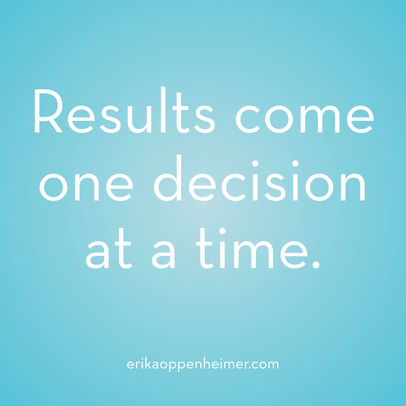 Results come one decision at a time. // erikaoppenheimer.com // Exploring the Pros and Cons of 3 Ways to Prepare for the SAT and ACT